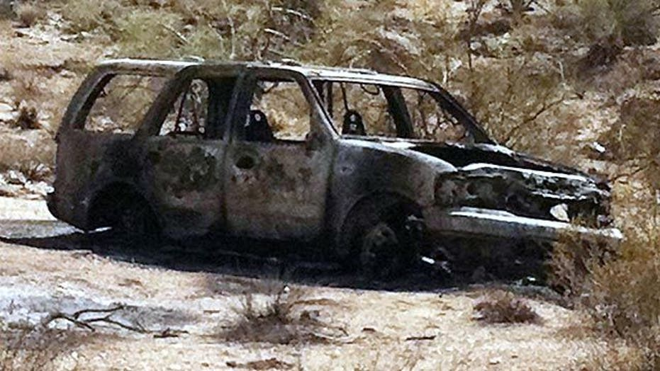 5 bodies found burned inside SUV in Arizona