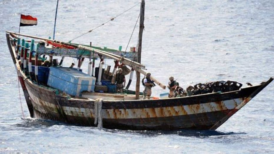 Business is booming for Somali pirates
