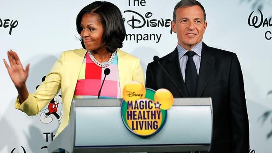 Company partners with first lady on new healthy food ad strategy