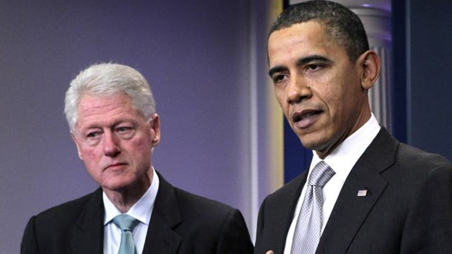 Is Bill Clinton helping or hurting the Obama campaign?