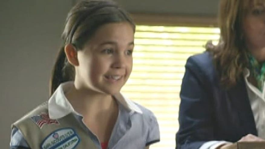 "Star of the Hallmark Channel's original movie ""Smart Cookies"", Bailee Madison, talks about her experience playing a girl scout and updates us on her other current projects"