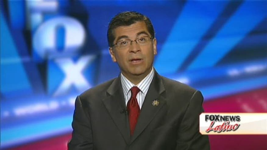 In a Fox News Latino exclusive, Juan Williams speaks with congressman Xavier Becerra (D-CA) about Latinos, President Obama, Mitt Romney and more.