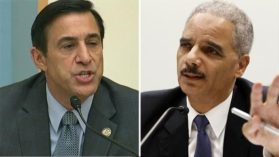 Rep. Issa, Eric Holder face-off on Fast & Furious