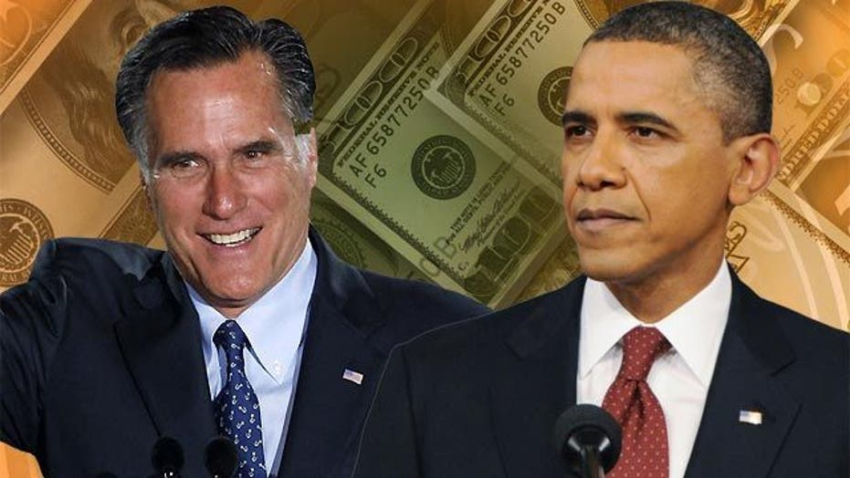 Romney overtakes Obama in the money race