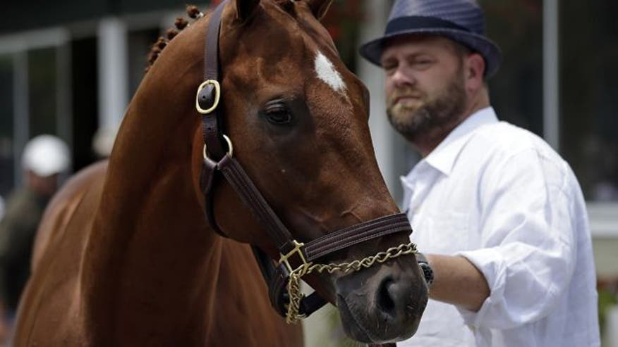 Triple Crown contender would have been first in 34 years