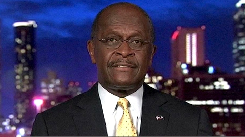 Herman Cain in No Spin Zone