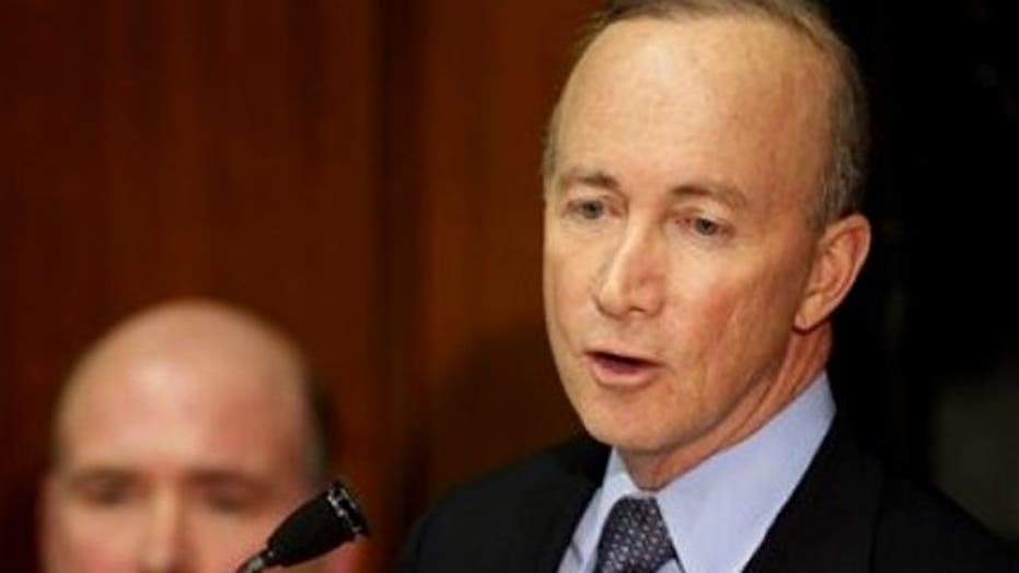 Indiana Gov. Daniels says all public unions should go