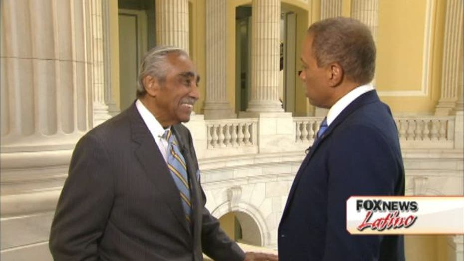 Rangel on his Election & Romney: Part Two