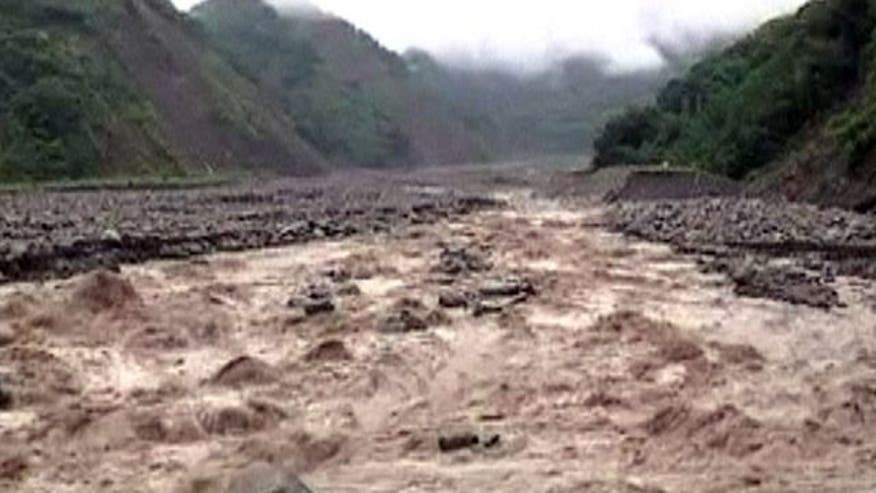 Over 3,000 evacuated from rising waters, mudslides