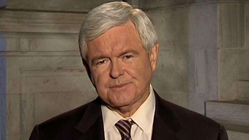 Former House Speaker Newt Gingrich on his candidacy, GOP debate