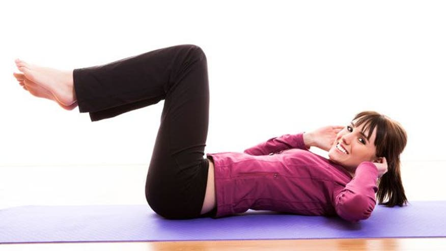 Beat stress and slim down with this relaxing routine.