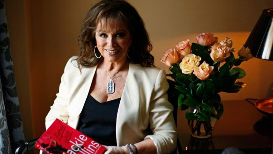 The author and icon dishes on marriage, celebs and her new book!