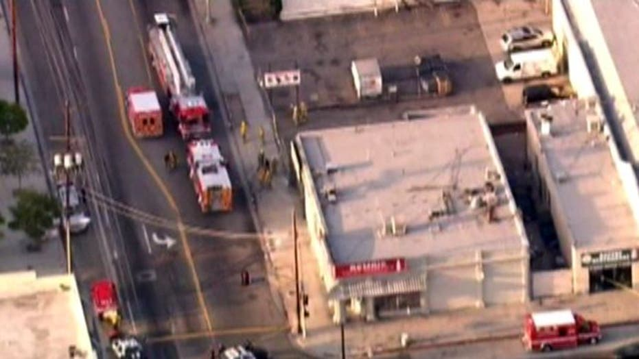 Across America: Gas tank explosion injures 4 in L.A.