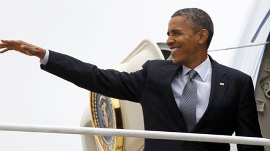 Obama Looks to Reset Race