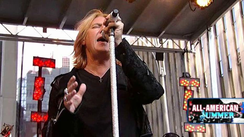 Def Leppard on 'Fox & Friends'