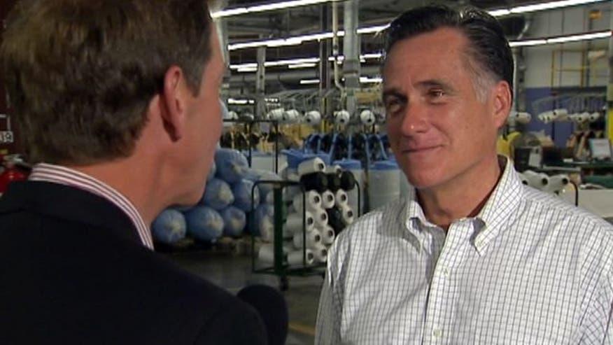 Carl Cameron's exclusive interview with Mitt Romney