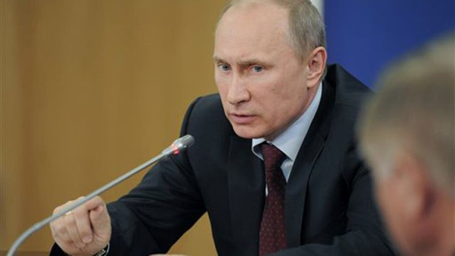 Putin 'shaping the policy in the Middle East'?