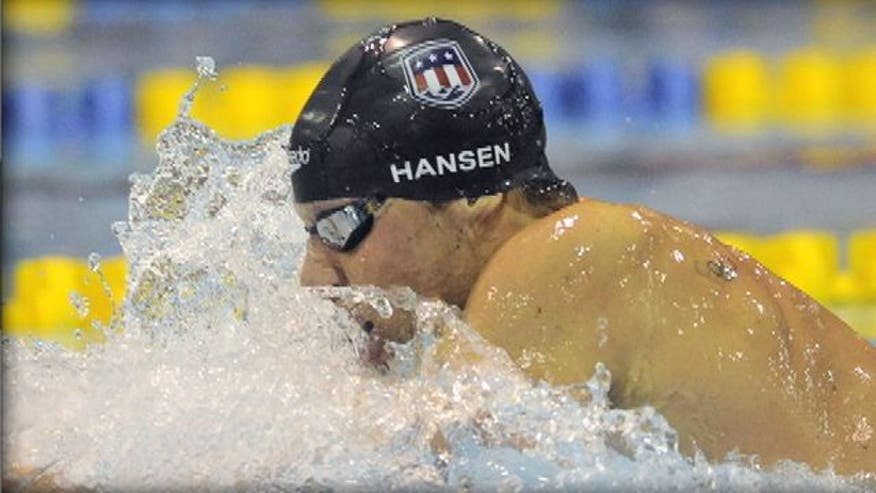 Swimmer on achieving goal of winning gold medal at 2012 London Games
