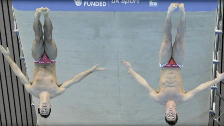 Diver reveals his Olympic hero ahead of 2012 London Games