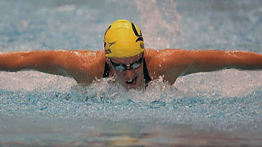 Swimmer on overcoming adversity ahead of London 2012 Games