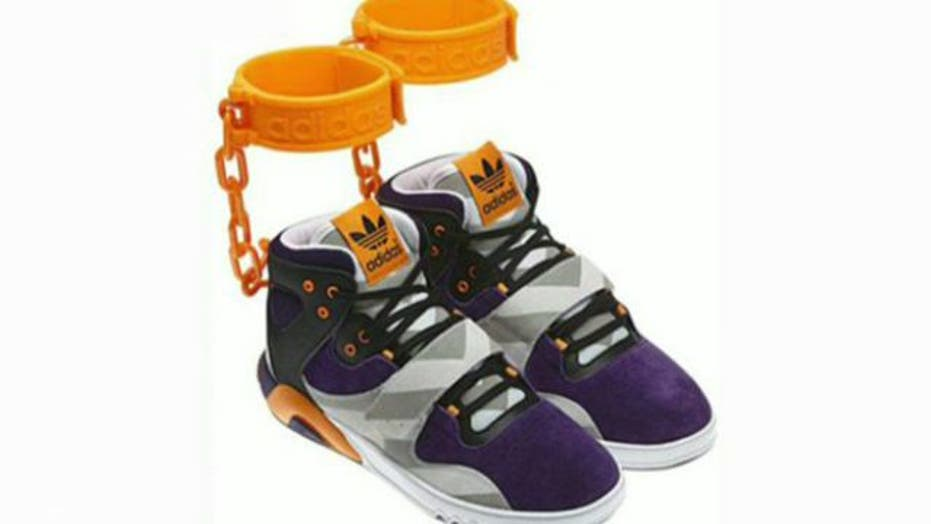 Adidas pulls shackle sneakers after slavery controversy