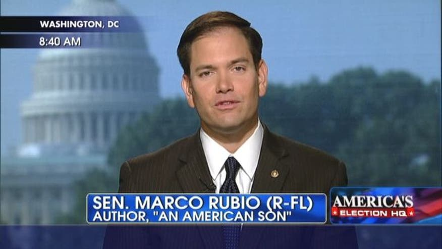 "Senator Marco Rubio talks about the immigration controversy and his new book ""An American Son""."