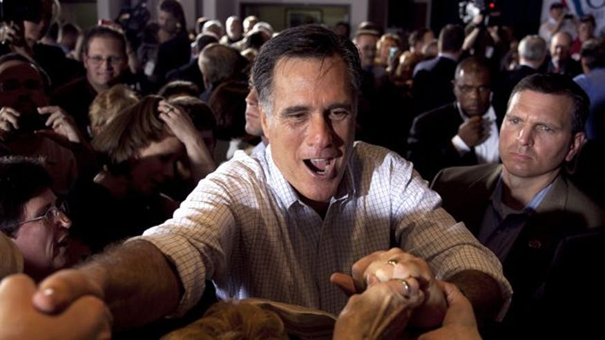 Exclusive: Sean sits down with Mitt and Ann Romney on their bus tour