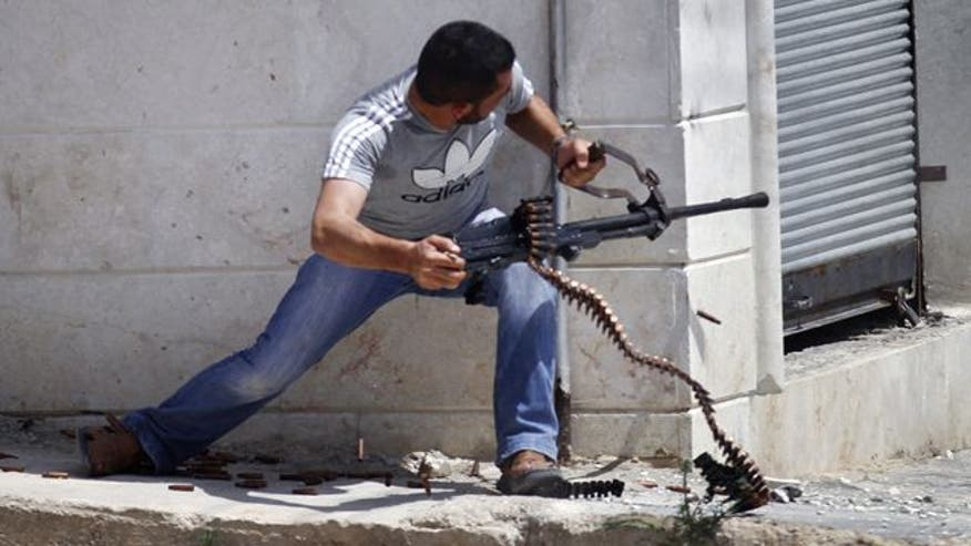 Report: Intelligence agency helping Turkey supply rebels with weapons to fight Assad regime