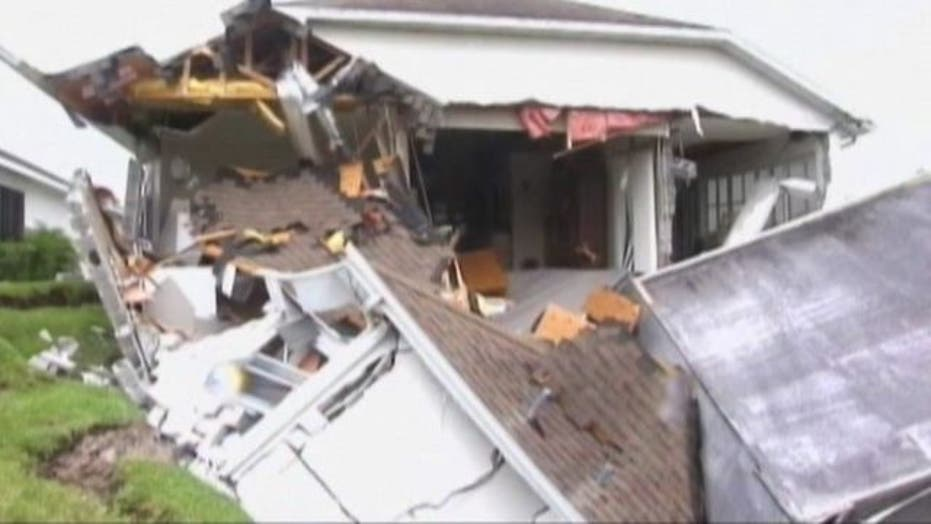 Across America: Florida home swallowed up by sinkhole