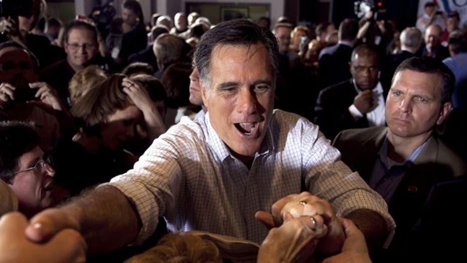 On the campaign trail with the Romneys