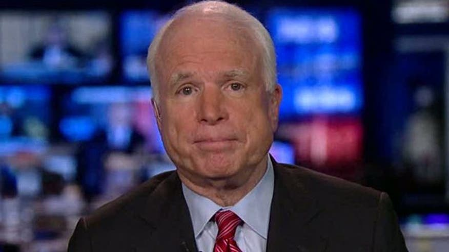 Sen. McCain reacts to president's timetable for Afghanistan