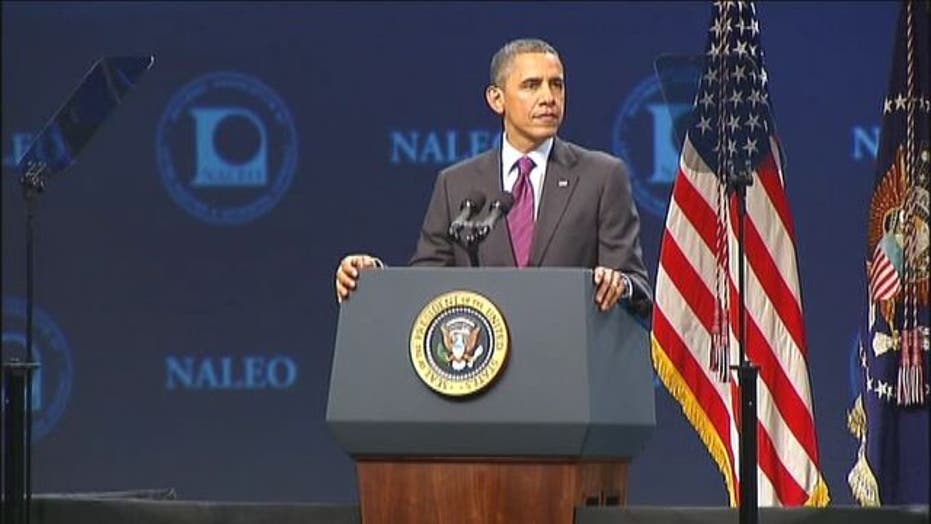 NALEO: Obama Defends Immigration Policy