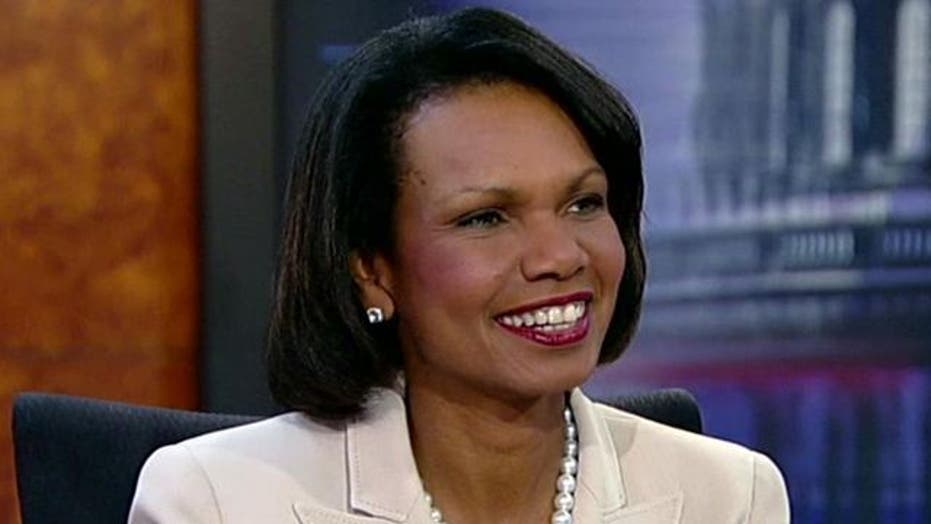 Condi Rice: Jury's out on 'new day' in Egypt