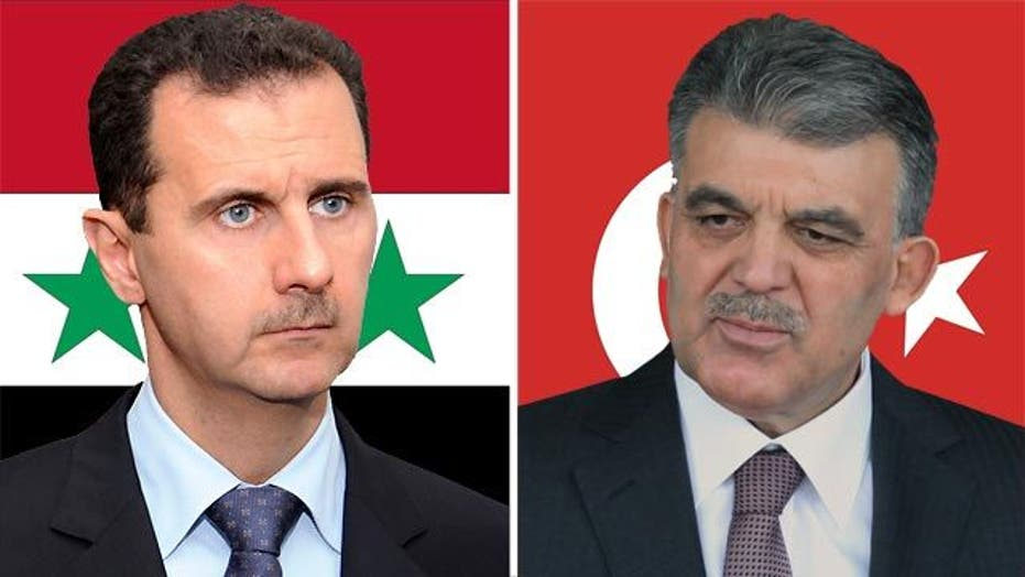 Growing conflict between Syria and Turkey