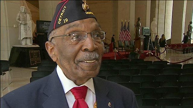 First black Marines receive nation's highest civilian ...