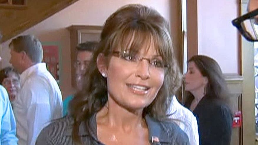 Sarah Palin attends premiere of documentary about her term as governor as questions loom on White House run