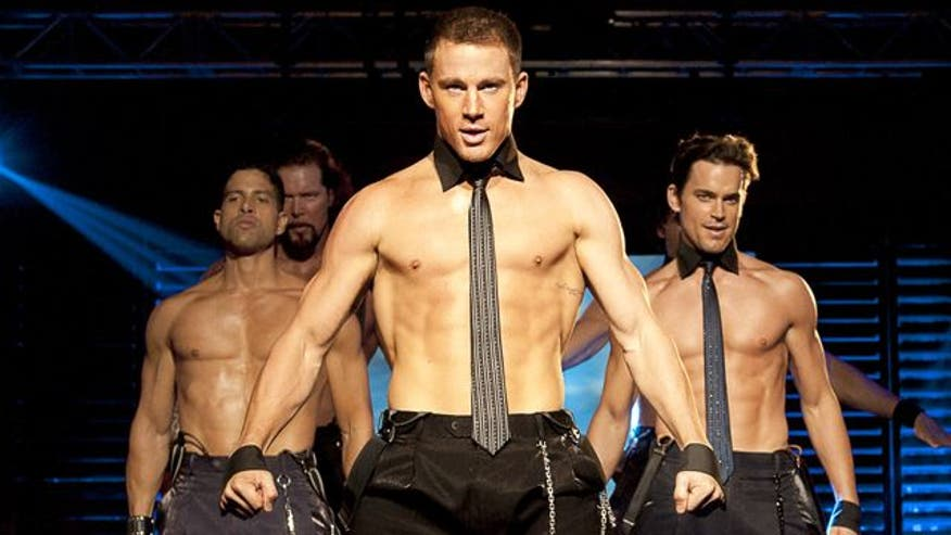 Channing Tatum and Matthew McConaughey strip down to their skivvies in new comedy