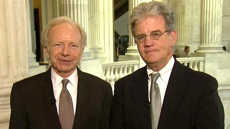 Sens. Lieberman, Coburn on their Medicare plan