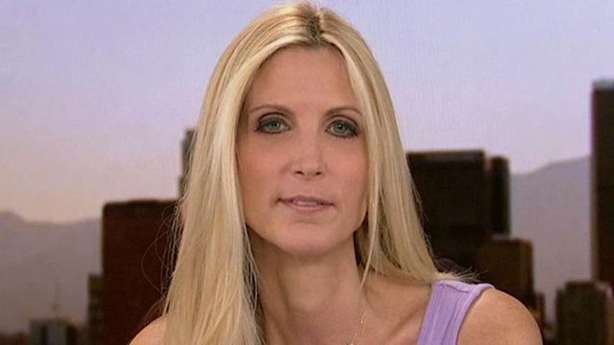 Author Ann Coulter reacts to attacks on 2012 candidate, conservative women