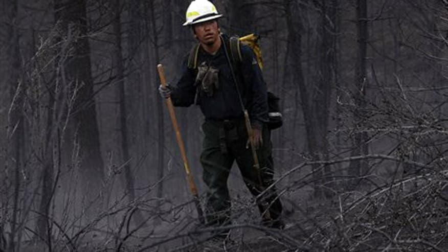 President Obama vows to provide resources firefighters need