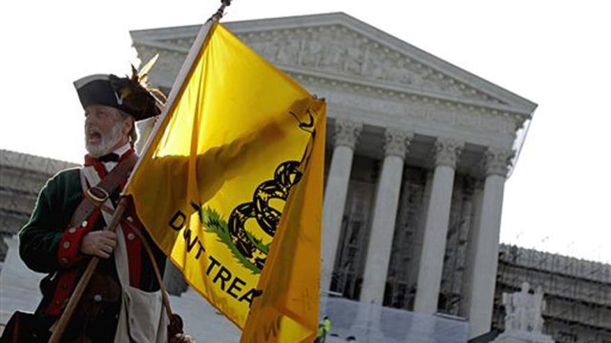 Tea Party rejuvenated and galvanized after Supreme Court upholds president's national health care reform law