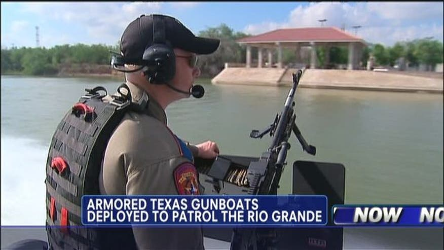 Heavily armored Texas gunboats cost about $580,000 in state and fed funds.