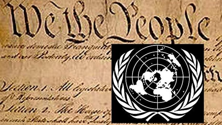 Could UN arms treaty infringe on US Constitution?