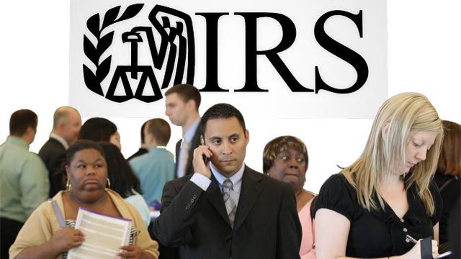 IRS reportedly goes on hiring frenzy