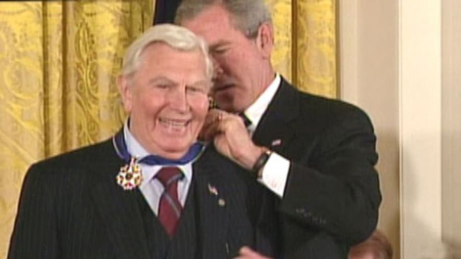 'America's Sheriff' Andy Griffith dead at 86