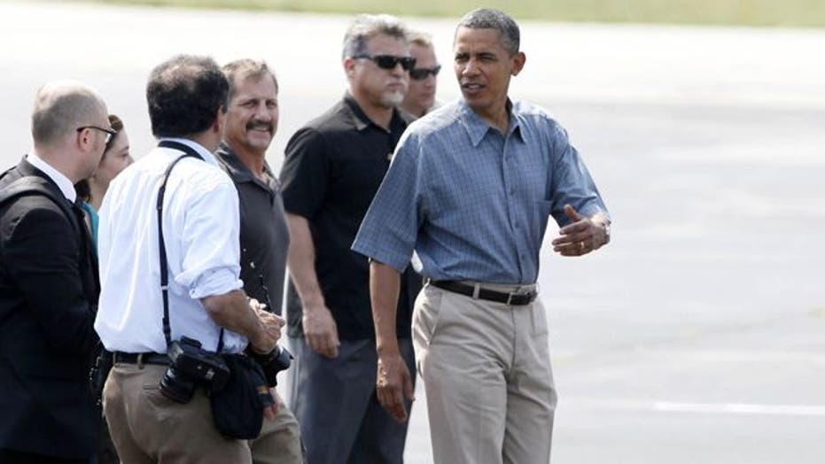 Obama rumbles through the rust belt
