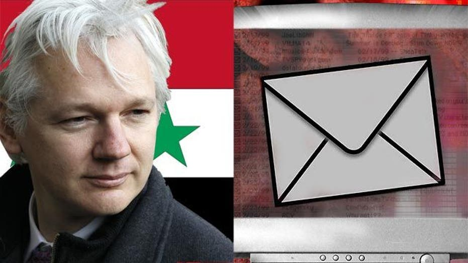 WikiLeaks claims to be releasing Syrian gov't e-mails