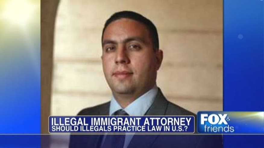 An undocumented immigrant says an Obama administration change to U.S. immigration policy means there are no grounds to deny him a Florida law license.