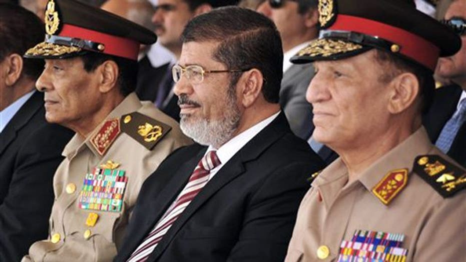 Power struggle between Egyptian president, military leaders