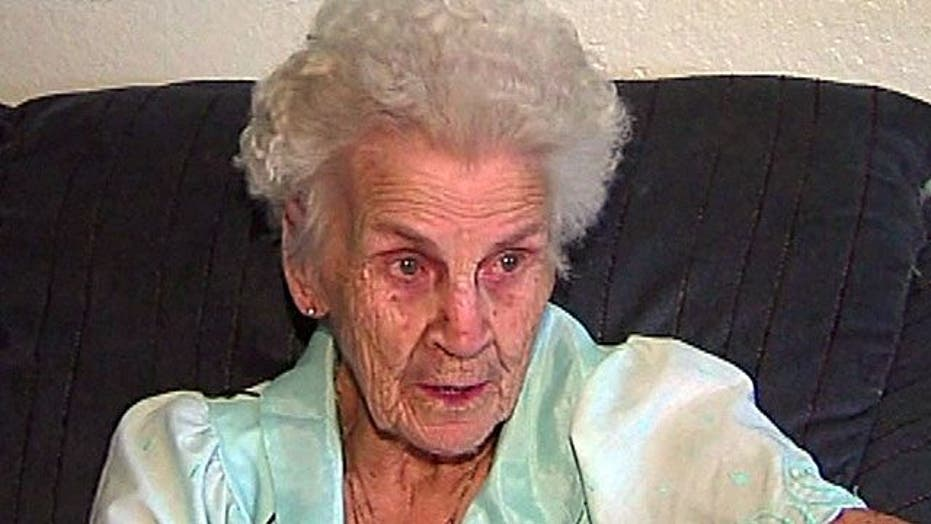 93-year-old found trapped inside car